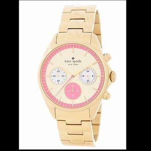 Kade Spade ♠️ gold watch! Gently used